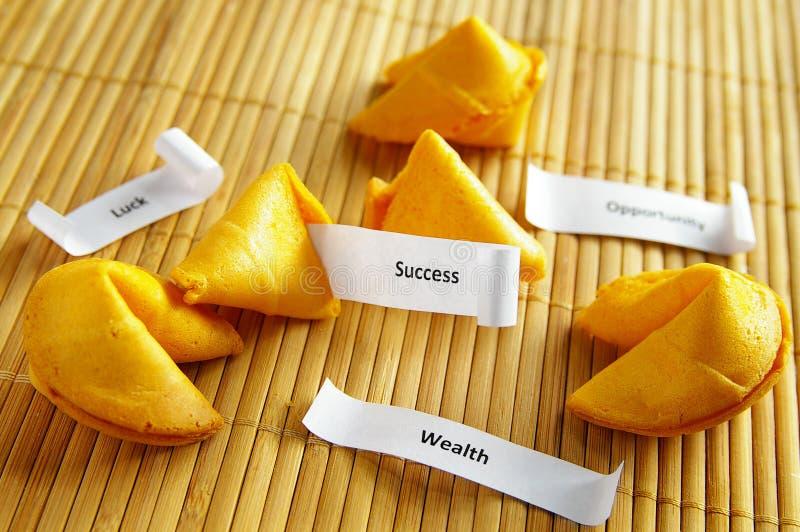 Messaggi di successo immagine stock