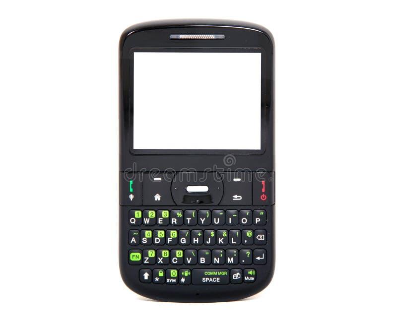 Messaggio di telefono delle cellule fotografia stock