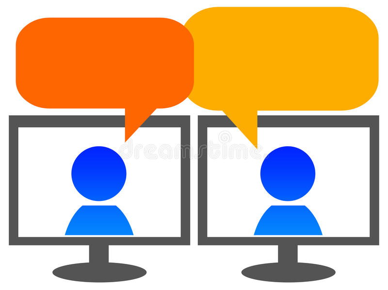 Download Messaging stock illustration. Image of forums, interactive - 22198319