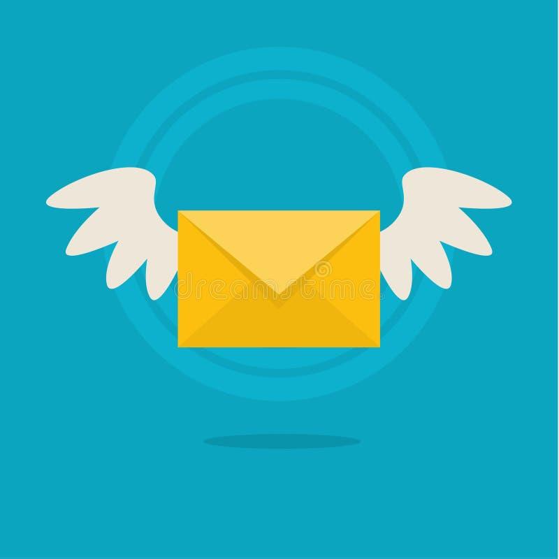 Messaging concept vector illustration