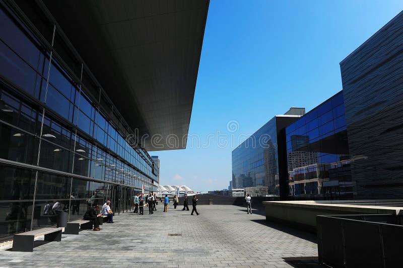 Messe Frankfurt stock foto's