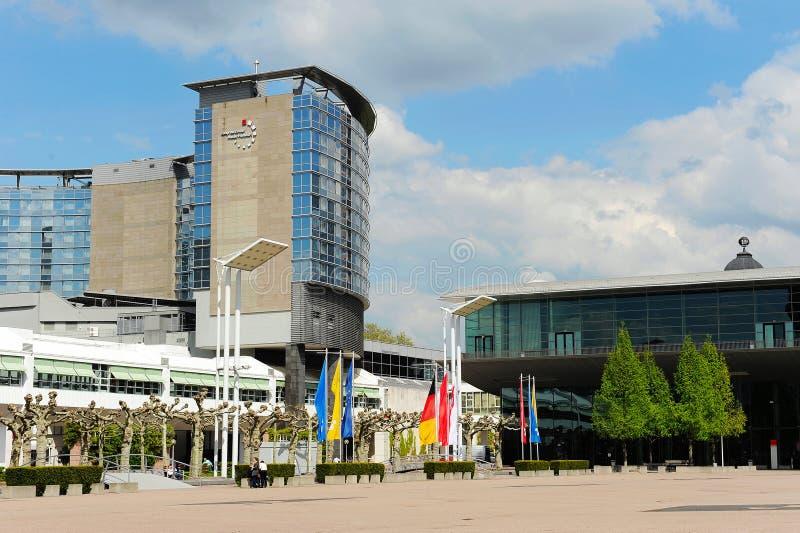 Messe Frankfurt royalty-vrije stock foto