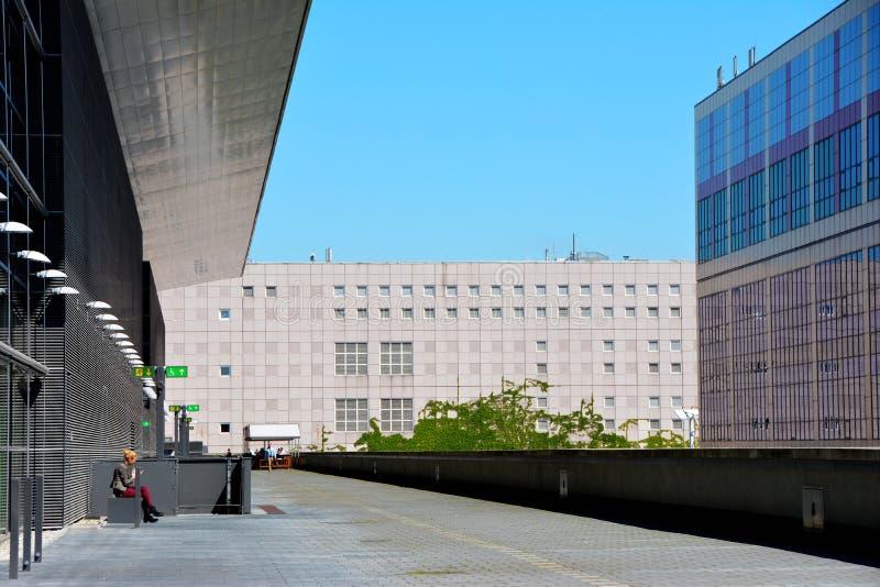 Messe Frankfurt royalty-vrije stock fotografie