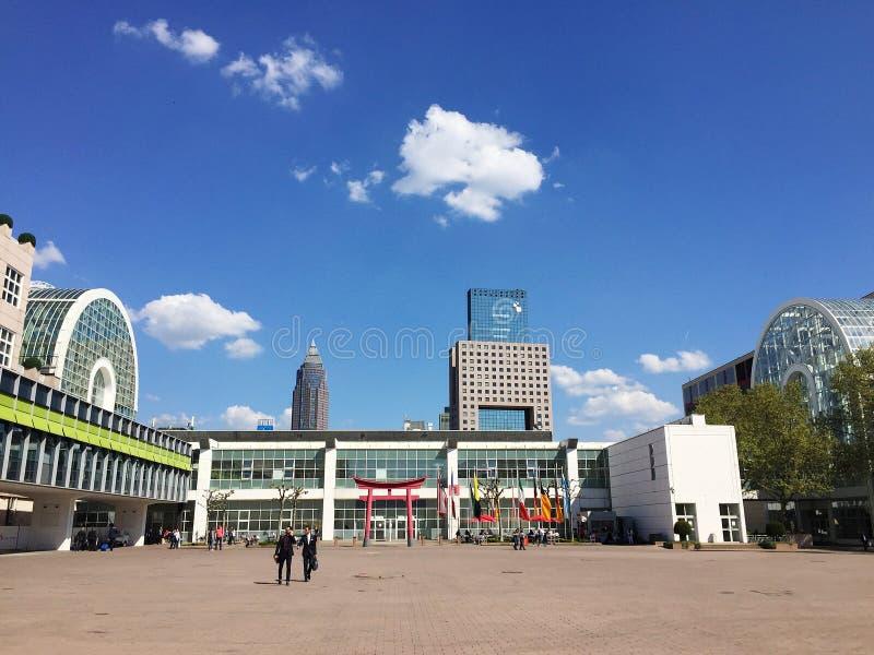 Messe Frankfurt stock foto