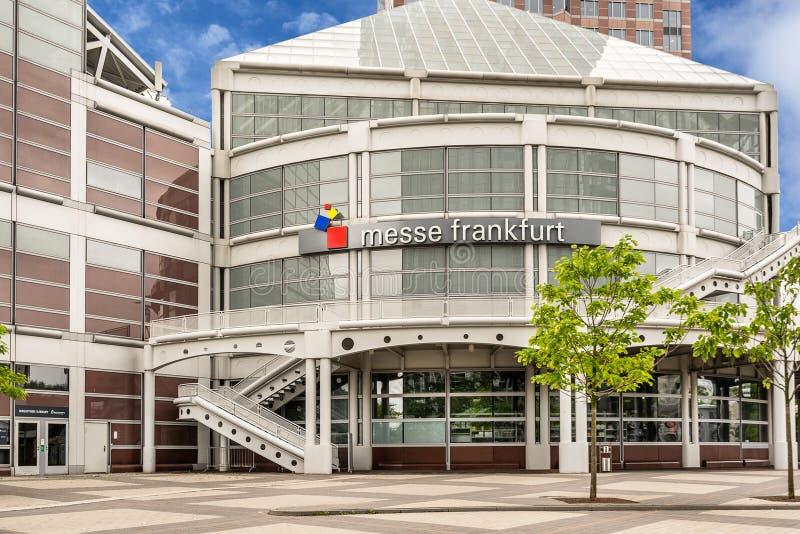 Messe Frankfurt stock afbeelding