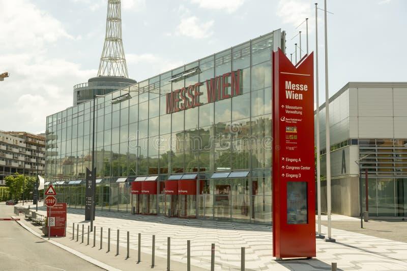 Messe Wien, targ handlowy Wiedeń/ fotografia royalty free