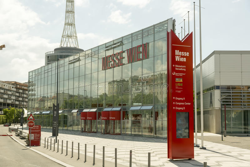 Messe Wien / Trade Fair of Vienna royalty free stock photography