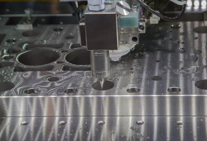 Messen CNC CMM Roboter lizenzfreie stockfotos
