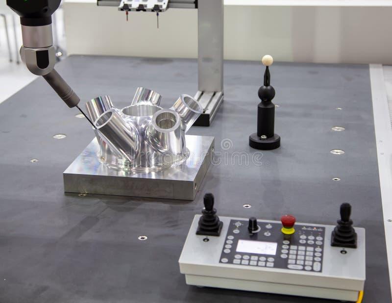 Messen CNC CMM Roboter stockfoto