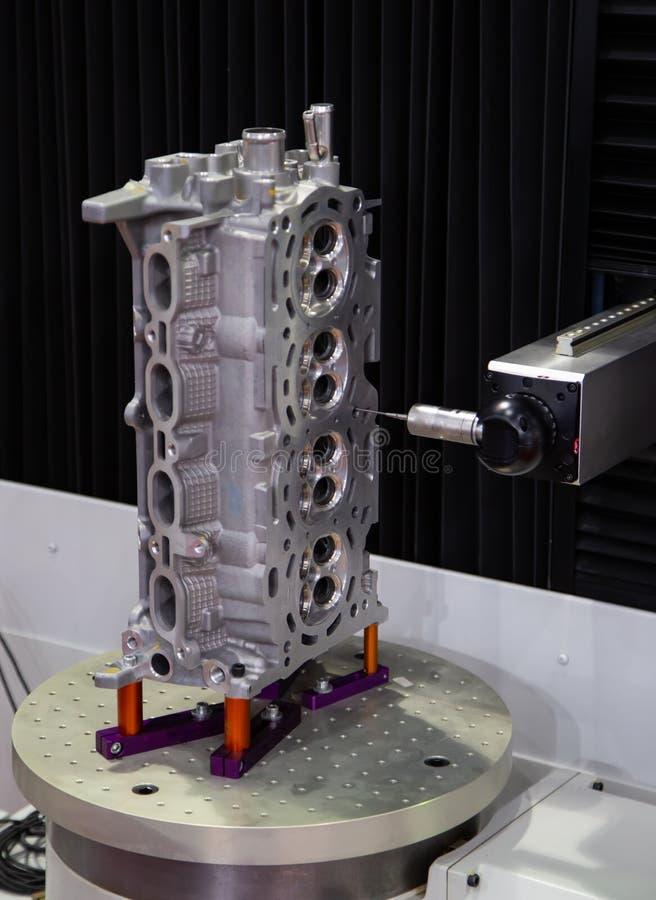 Messen CNC CMM Roboter stockbild