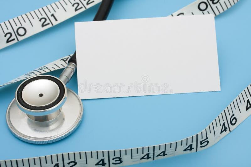 Messende Gesundheit stockfotografie