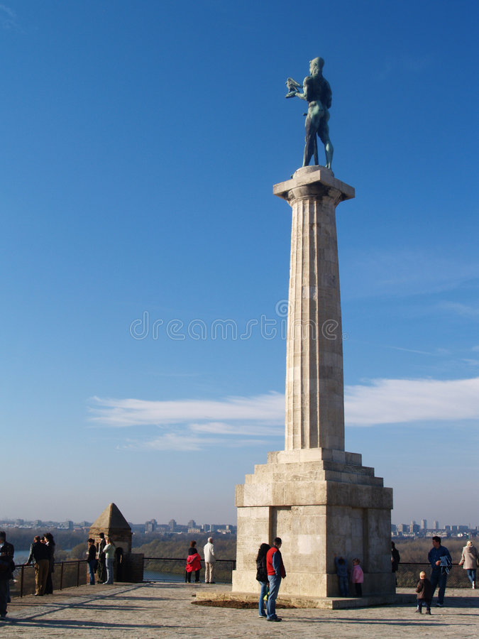 Download Messenger Of Victory Statue Stock Photo - Image: 3209048