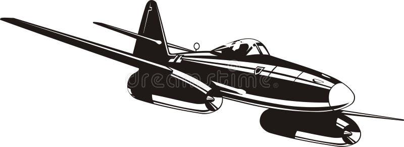 Messerschmitt Me262 Stock Photography
