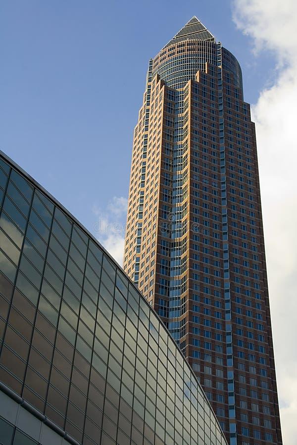 Messeturm royalty-vrije stock foto's