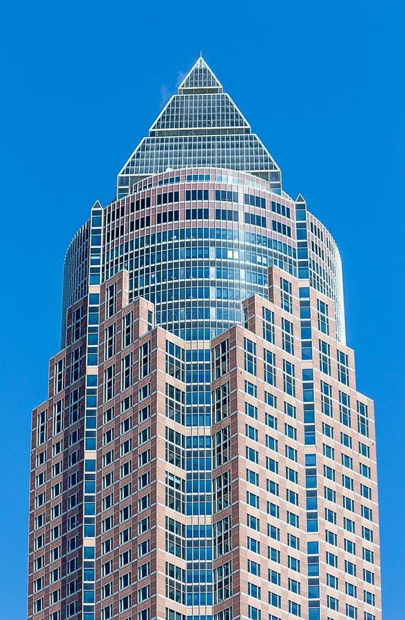 Messeturm w Frankfurt magistrala, Niemcy - Am - obrazy royalty free