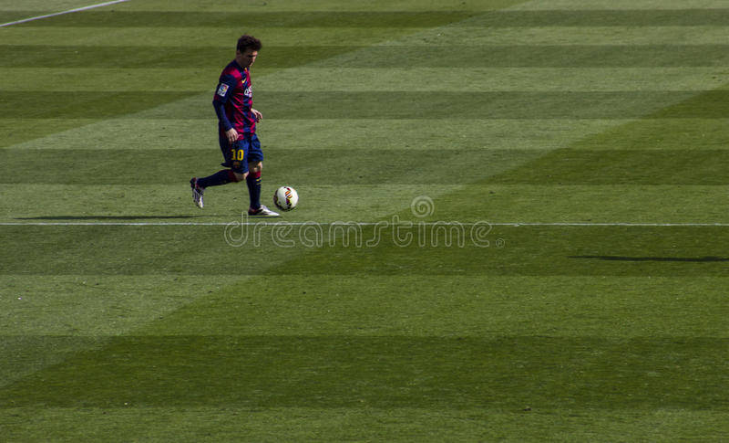 Messi ruisselant images stock