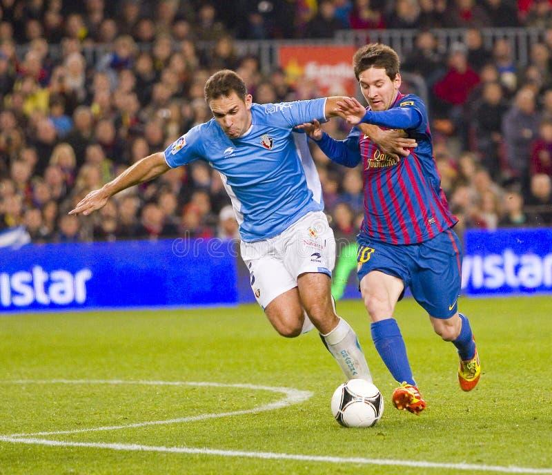 Messi w akci zdjęcia royalty free