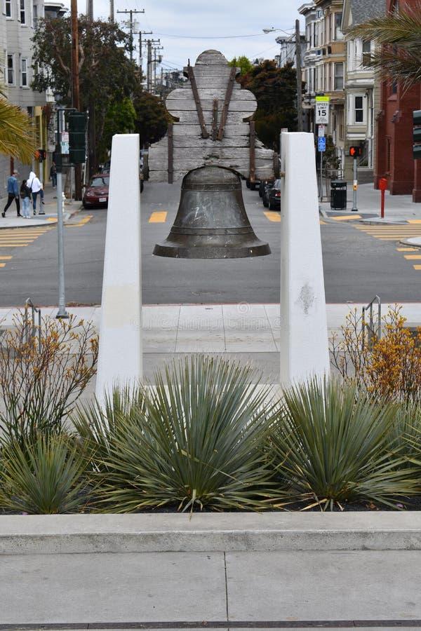 Messicano Liberty Bell Dolores Park San Francisco, 1 fotografia stock libera da diritti