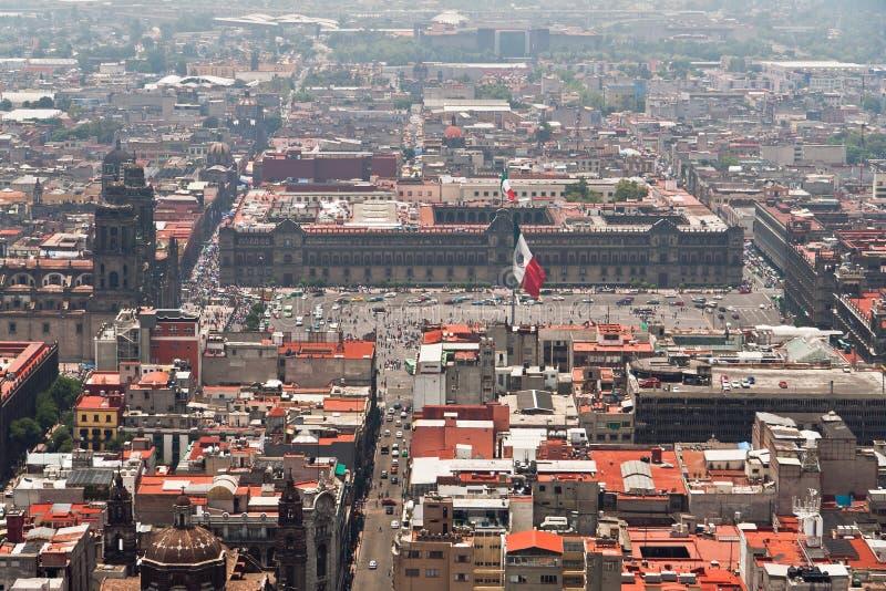 Messico City Zocalo fotografie stock libere da diritti