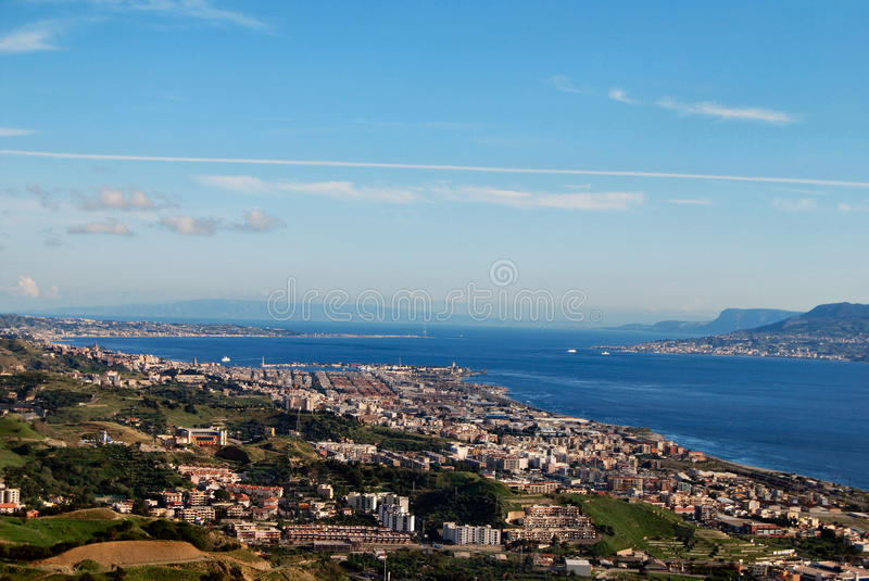 messina fotografia stock