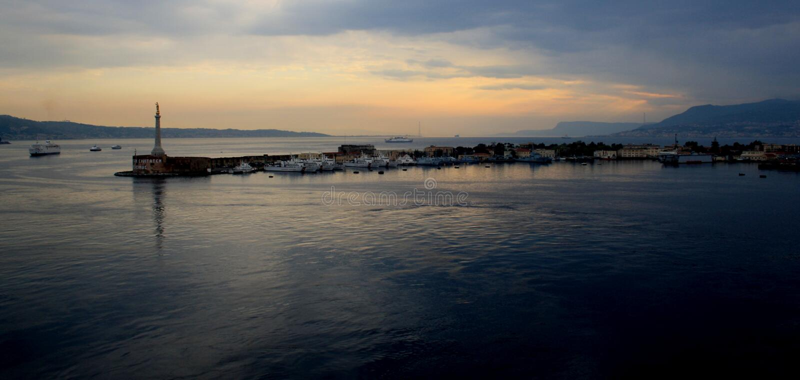 Messina immagine stock