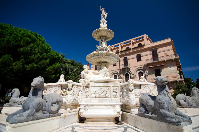 Messina, Fountain of Orion royalty free stock images