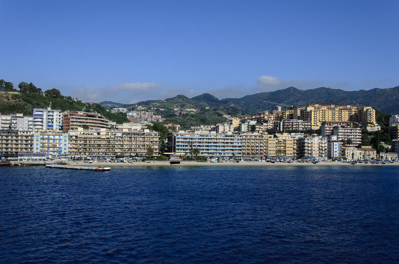 Messina, Italia fotografia stock