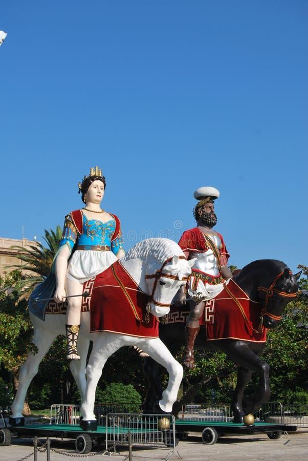 Messina - Sicilien royaltyfri bild