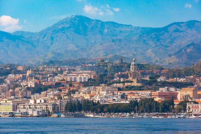 Messina, Sicily, W?ochy zdjęcie royalty free
