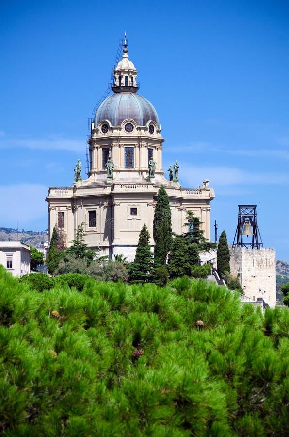 Messine, temple votif du Christ le roi images stock