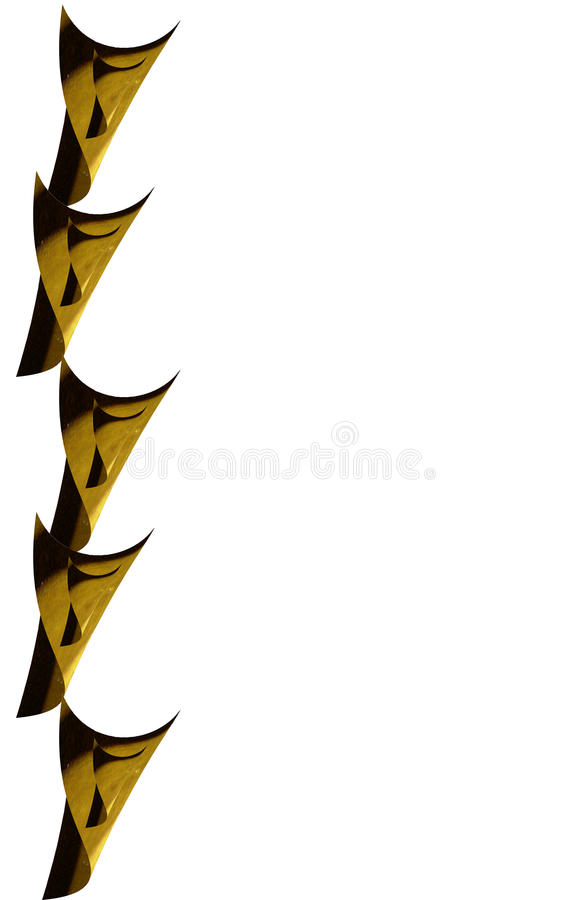 Messing- oder hölzerne Kegel stockbilder