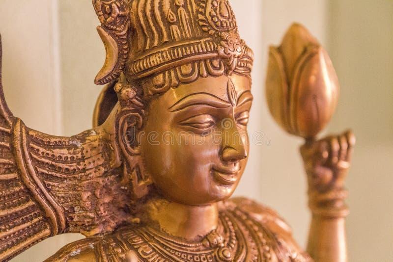 Messing-shiva Statue lizenzfreie stockfotos