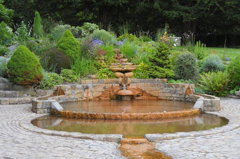 Messkelch-Brunnen stockfotografie
