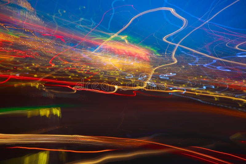 Messy abstract light Photography stock images