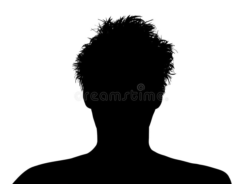 Messy Hair stock photography