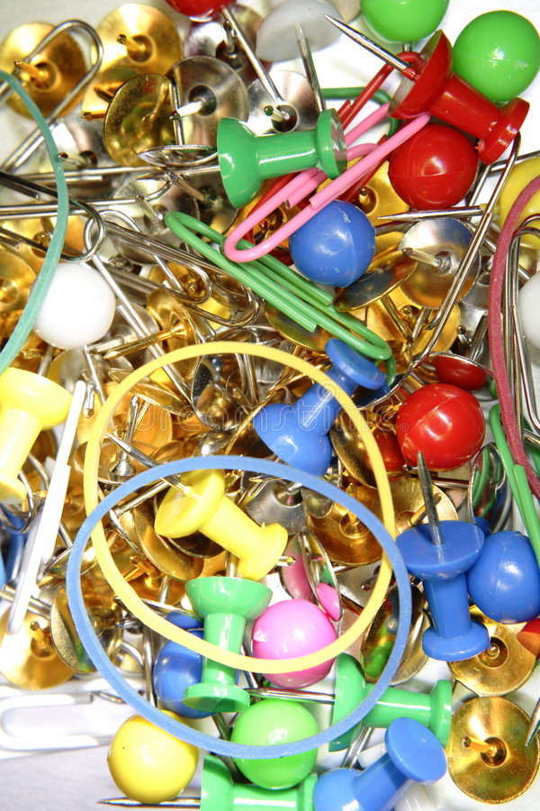 Free Messy Office Supplies Stock Photos - 2559143
