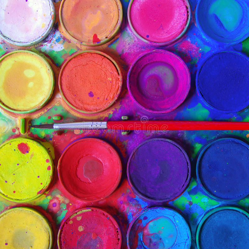 Free Messy Paints Stock Images - 19701044