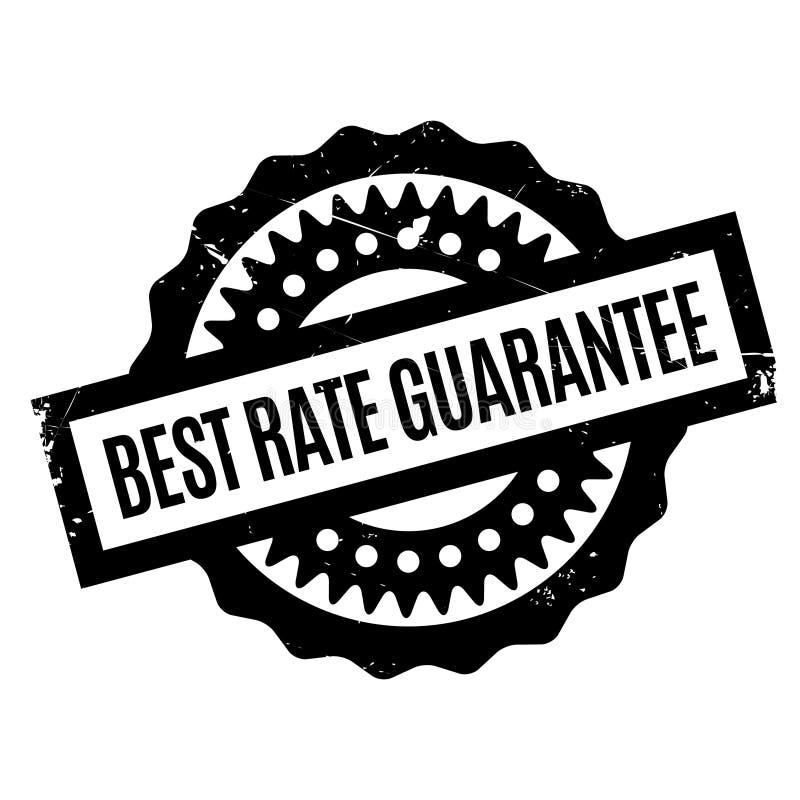 Mest bra Rate Guarantee rubber stämpel vektor illustrationer
