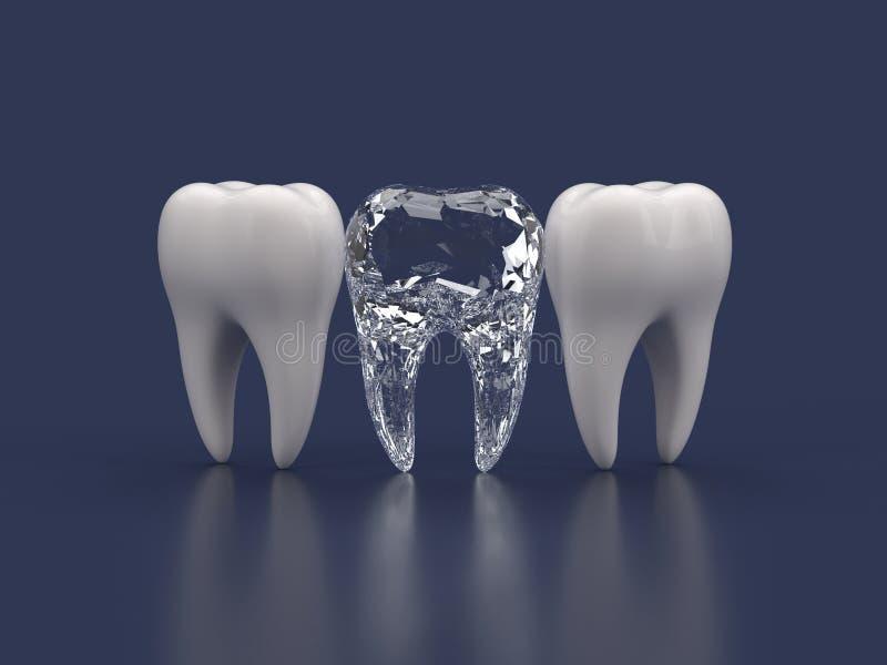 Mest bra tand vektor illustrationer