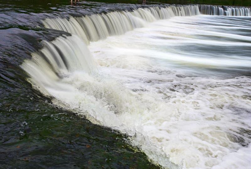 Mest bred vattenfall i Europa arkivbild
