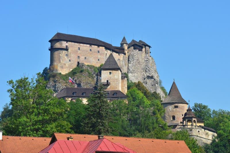 Mest härlig slott i Slovakien, Europa arkivbilder