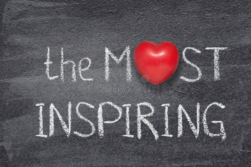 Mest inspirerande hjärta arkivbild