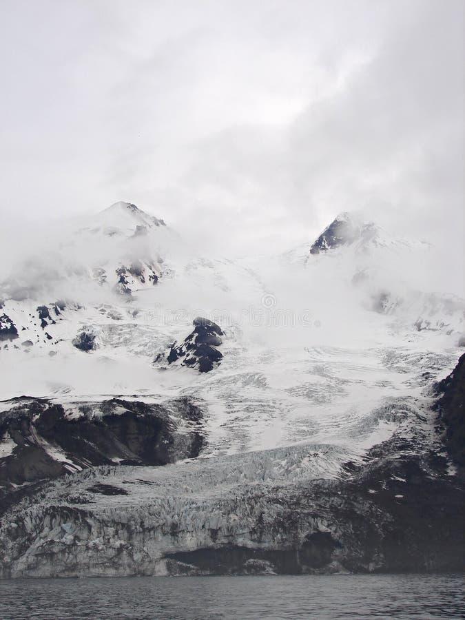 mest northernmost s vulkanvärld för aktiv beerenberg arkivfoton