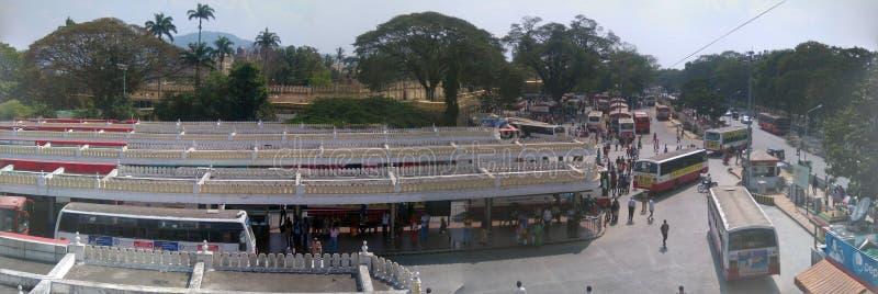 Mest ren stad, Mysore royaltyfria foton