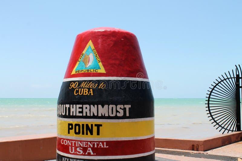 Mest southernmost peka arkivfoto