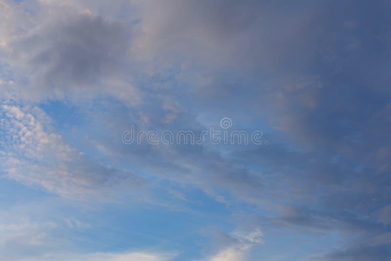 mestadels molnigt cyclone Väderprognos arkivbilder