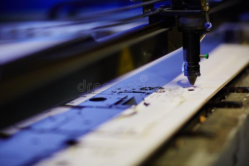Mestiere del laser fotografia stock