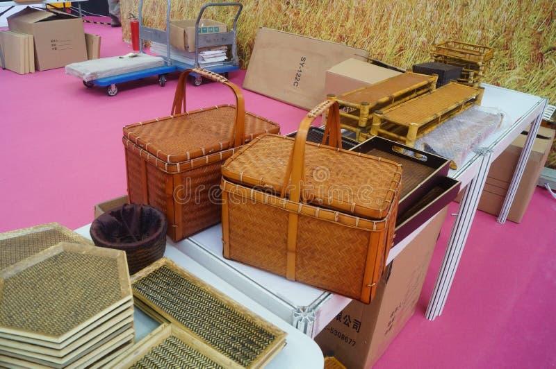 Mestieri di bambù immagini stock