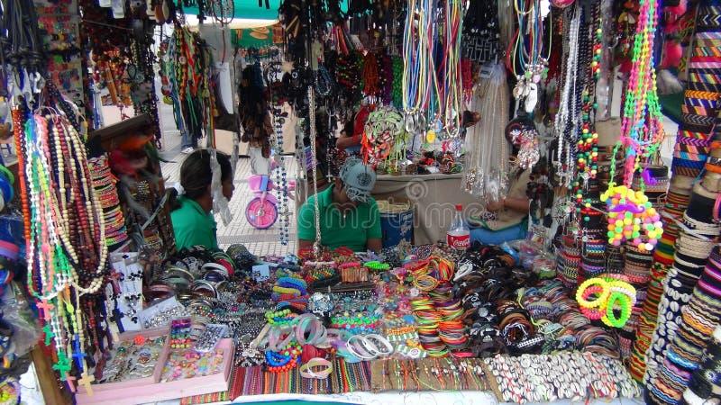 Mestieri a Santa Cruz La Bolivia, Sudamerica immagini stock
