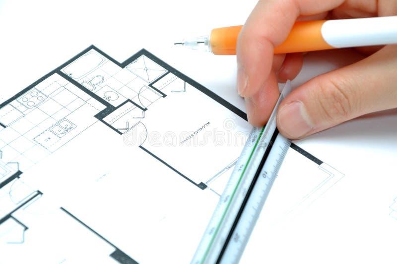 Mesure de votre maison neuve image stock image du for Concevez votre propre maison neuve